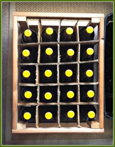 Salvo II in bottles